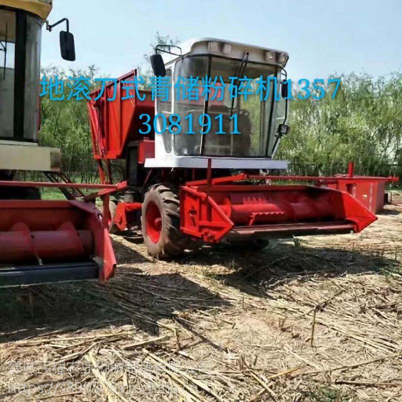 直销自走式牧草青储机 玉米秸秆收割机 黑麦草粉碎回收机 收集机技术