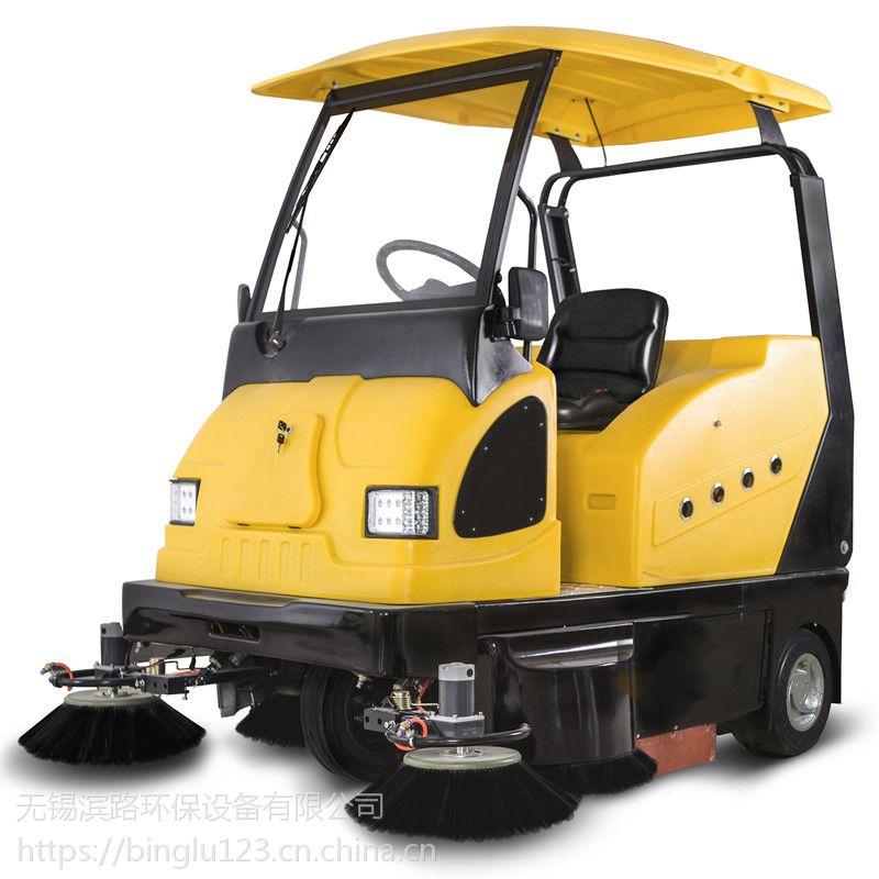 无锡物业保洁用扫地车|纯电动扫地车