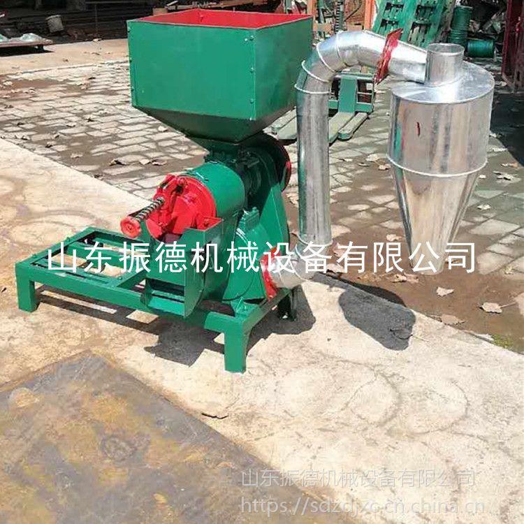 振德牌 玉米打碎脱皮机 多功能碾米机 稻谷砂棍碾米机 热销