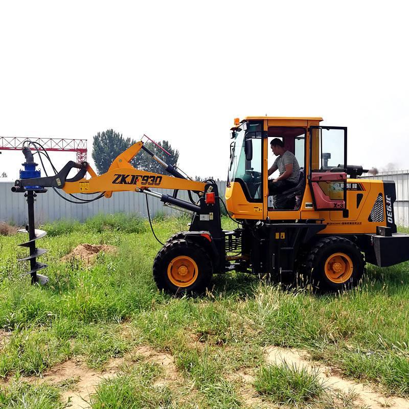 长期销售拖拉机钻坑机 打坑机长期销售 洪涛电力 厂家直销
