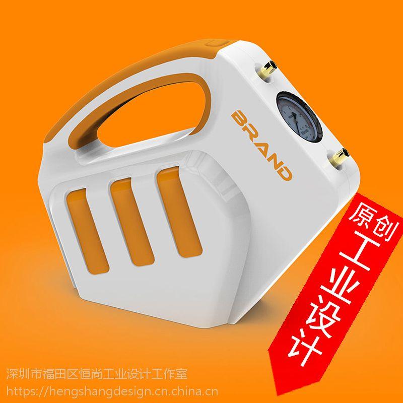 医疗产品设计治疗仪复苏机吸气泵仪器机械创意外观设计开发造型