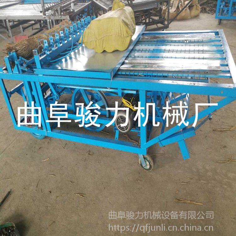 不同宽幅 全自动草帘机 多规格牧草草帘机 商用大型编织机 骏力牌