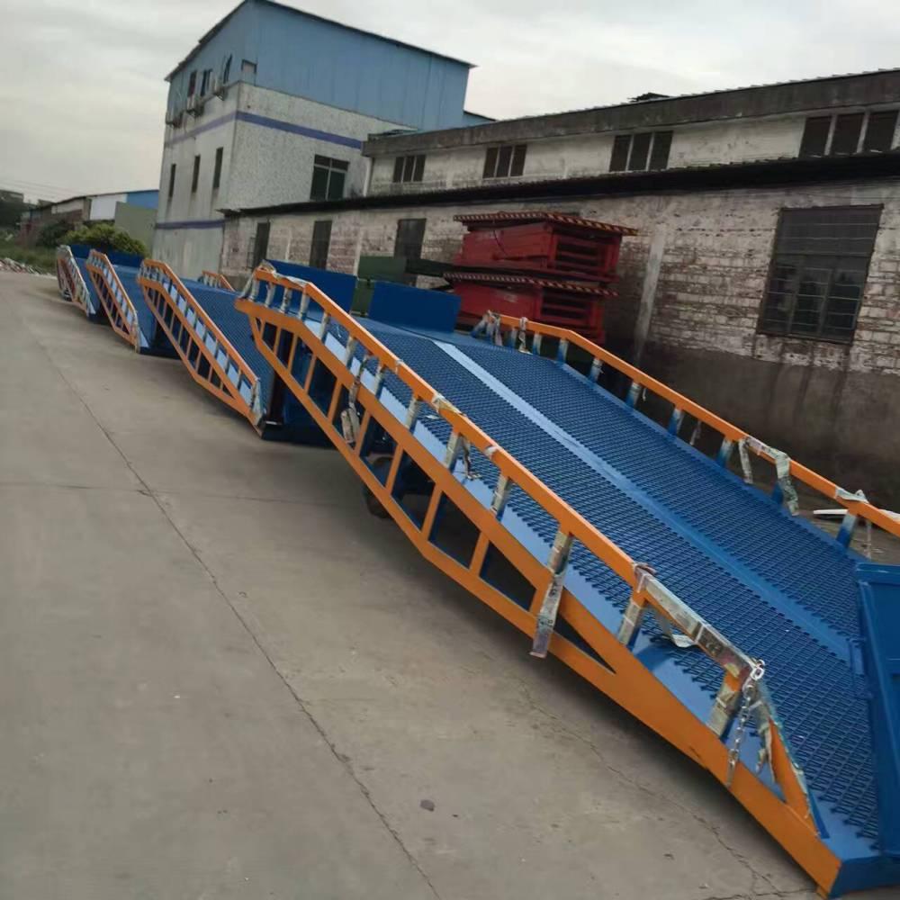 移动式登车桥出租 回收旧登车桥 卸货平台定做