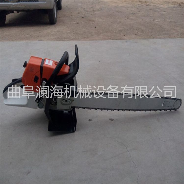 手提式小型挖树机 汽油刨树机 澜海机械