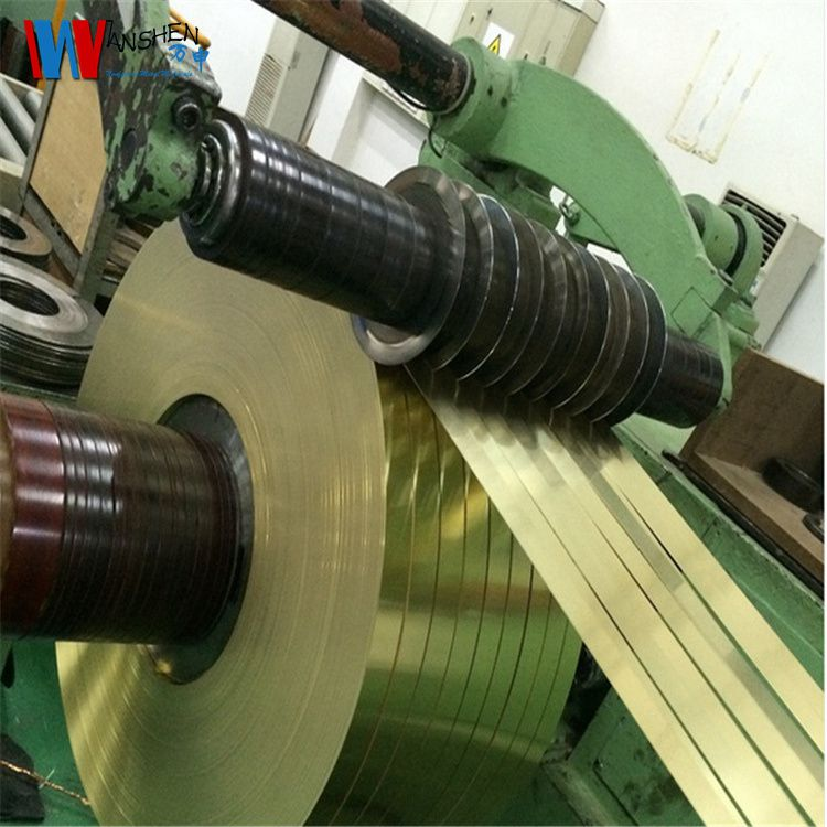 环保拉伸h62黄铜带 五金冲压h62高弹性耐磨黄铜带