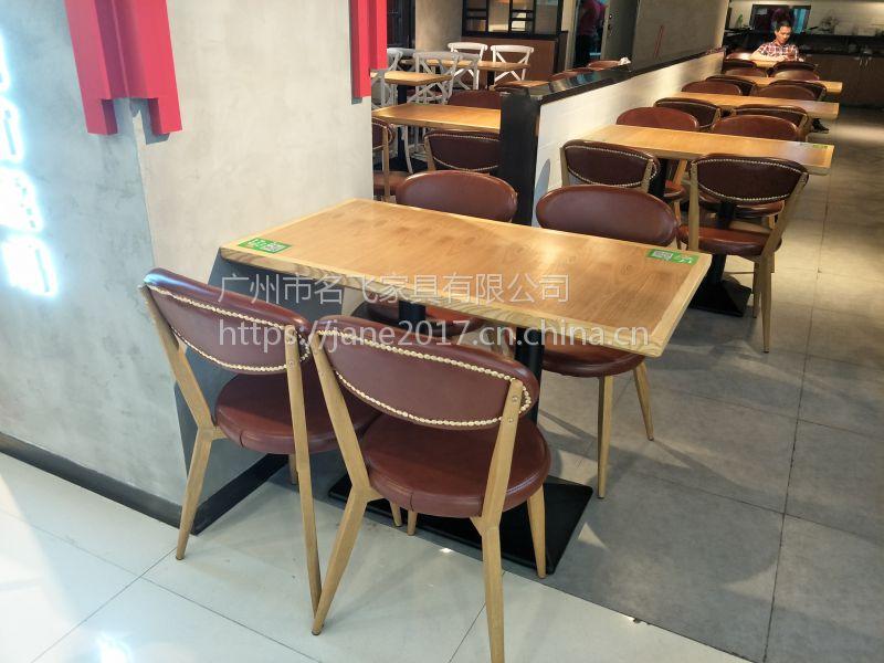 临汾市咖啡厅桌椅,简约现代甜品店奶茶店茶餐厅桌椅组合