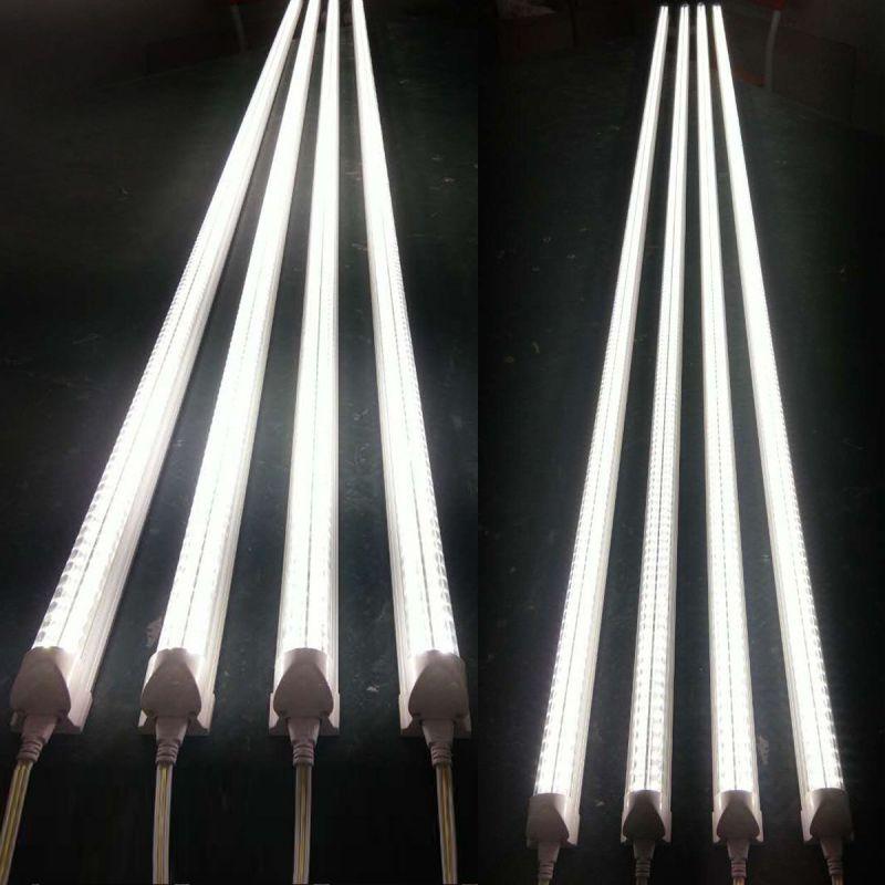 LED双排灯管V型灯管质保三年 T8一体化36W1.2米正白光非隔离保三年日光灯管