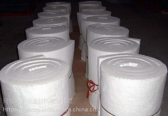 大量销售硅酸铝纤维毯、陶瓷甩丝毯厂家