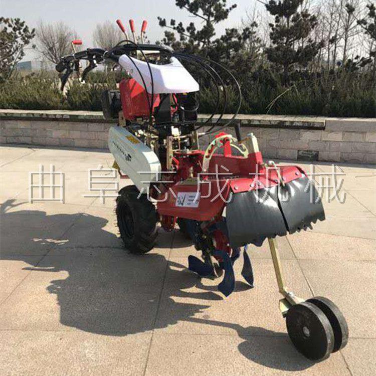山东济宁热卖红薯洋芋开沟机花卉种植起垄机大棚土豆培土机
