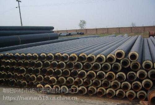 专业生产聚氨酯保温管 黑黄夹克管 保温效果好 耐高温