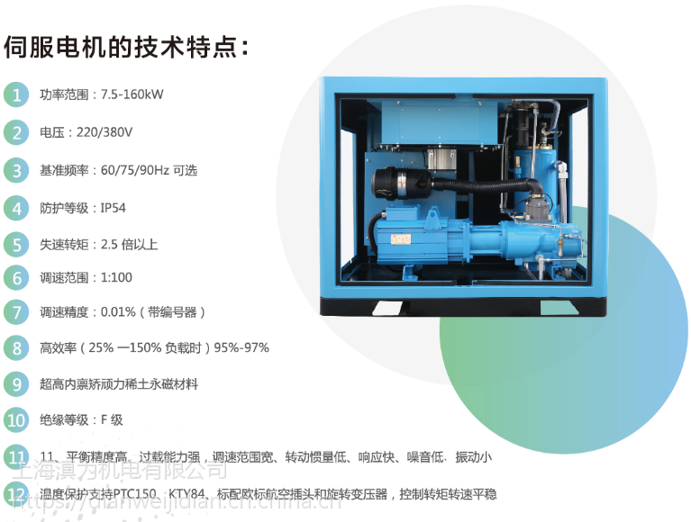 上海捷豹永磁变频空压机高温与空压机的关系