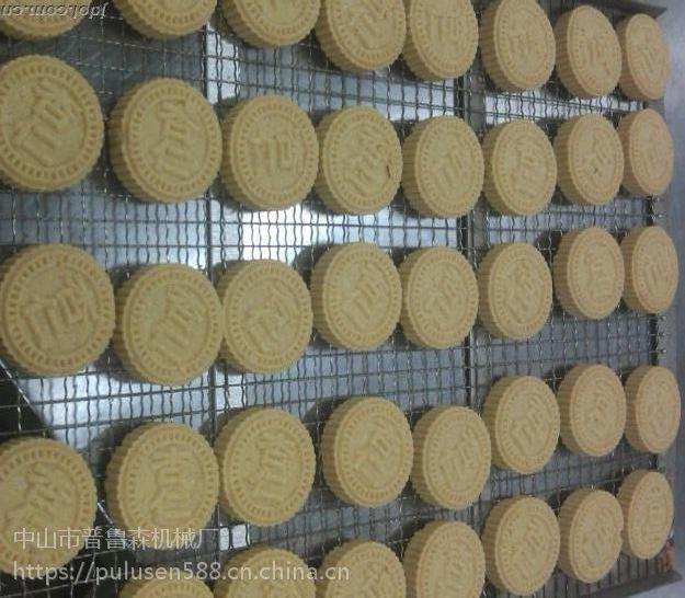 广西炒米饼机厂商用食品级不锈钢全自动仿手工粉印米饼机