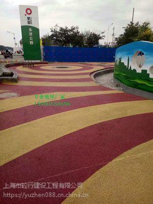 岳阳彩色透水混凝土路面材料直供
