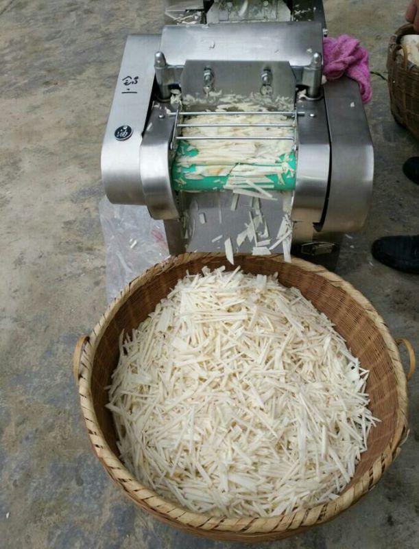 不锈钢型年糕切片机 圆豆角切段机