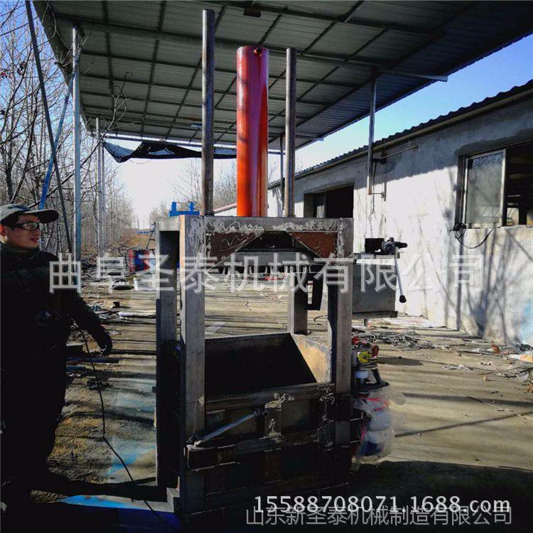 30吨液压打包机 3开门立式液压打包机