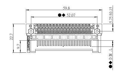 现货供应 康龙 PCMCIA系列 0070200P50B 连接器