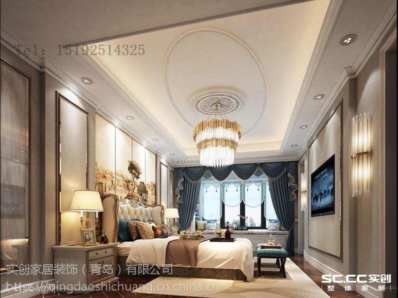 城阳别墅装修设计,长水山庄338平美式装修设计