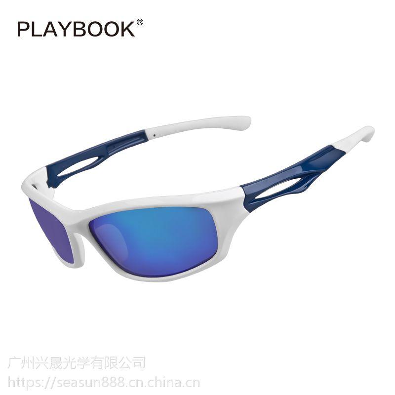 运动眼镜 户外骑行运动偏光太阳眼镜 亚马逊热销爆款跑步运动眼镜