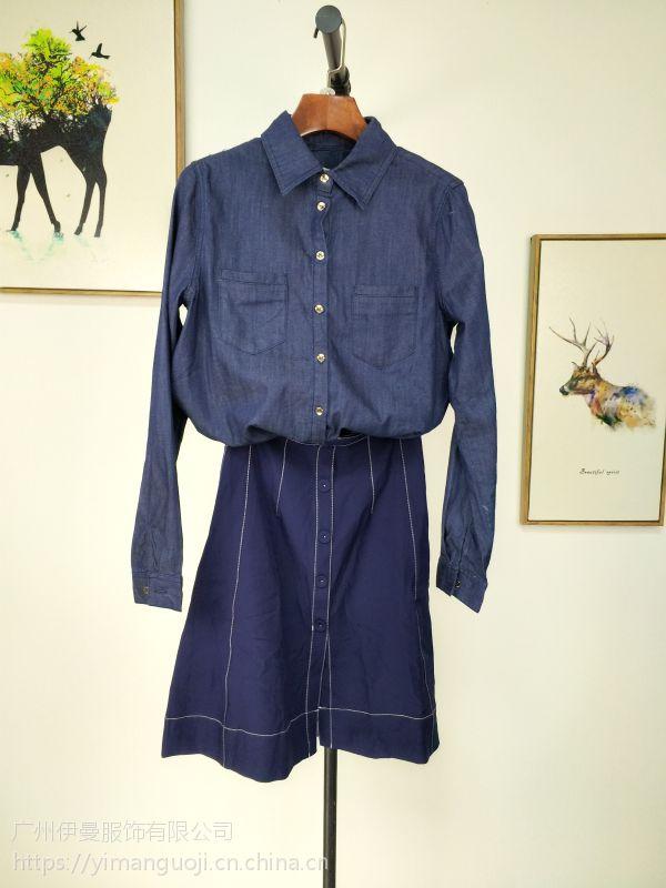 格瑞吉噢女装尾货 广州尾货品牌折扣女装走份批发