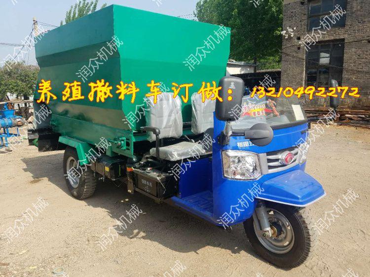 电动撒料车价位 大型养殖场饲喂设备 撒料车内部图