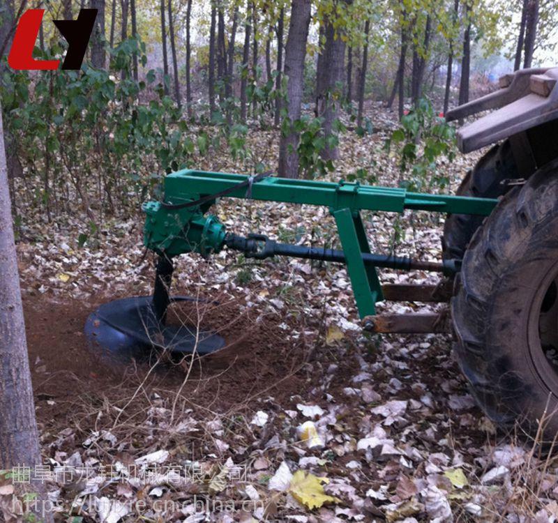 电线杆挖坑机厂家 全新汽油式大型挖坑打洞机械