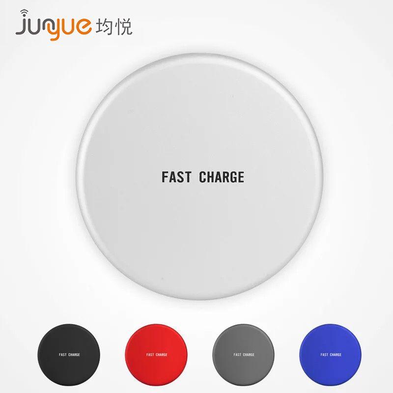 圆盘无线充电器 适于三星S8/苹果8/iPhoneX/小米 智能手机無線充