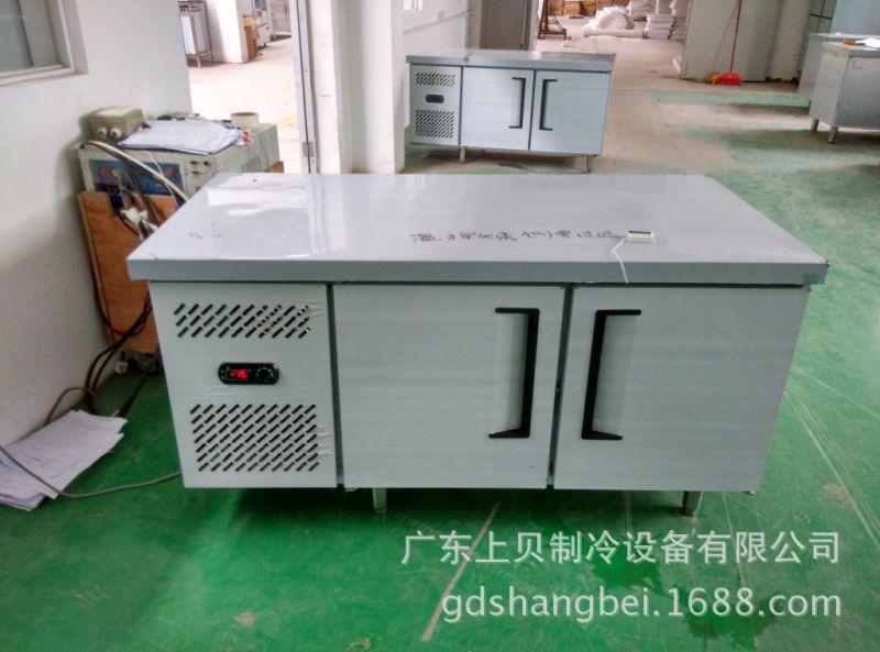 2米 操作台不锈钢 厨房卧式冰柜图片