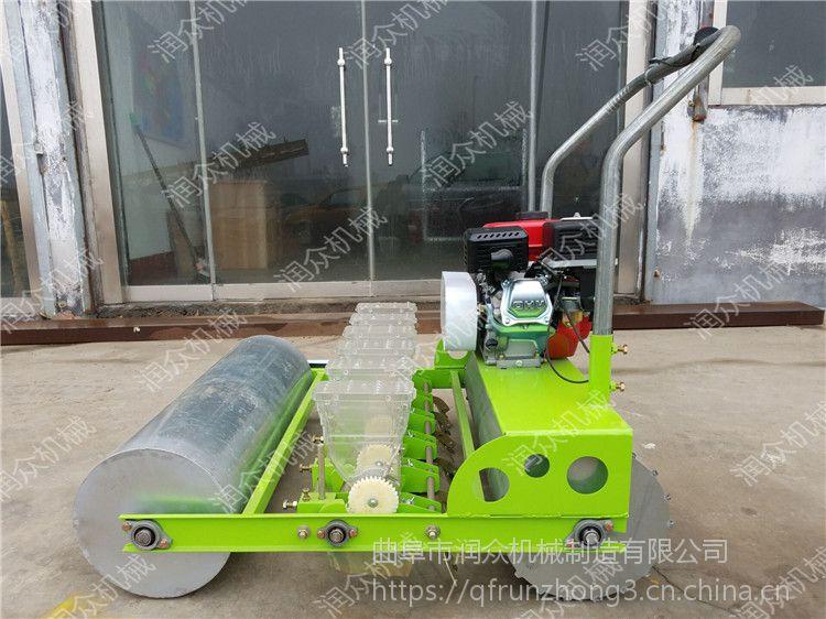 润众谷子精播机 汽油娃娃菜播种机 蔬菜育苗播种机