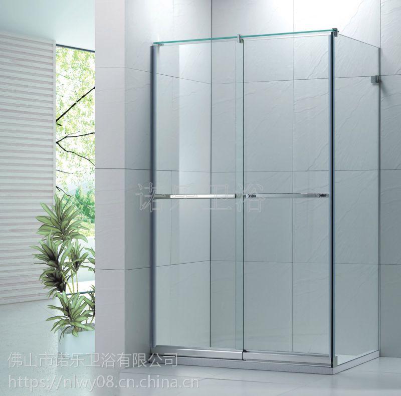 外贸出口工程酒店家装钻石型转轴门 简约EN12150欧洲认证淋浴房