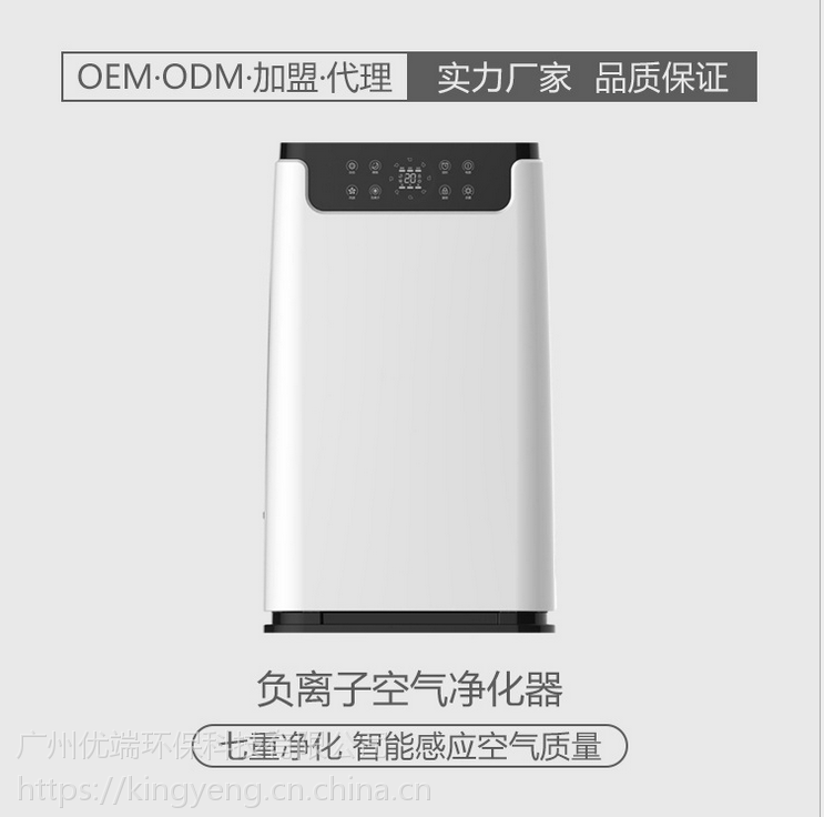 厂家批发负离子机KJ-KQ01家用除甲醛机 PM2.5净化器OEM/ODM