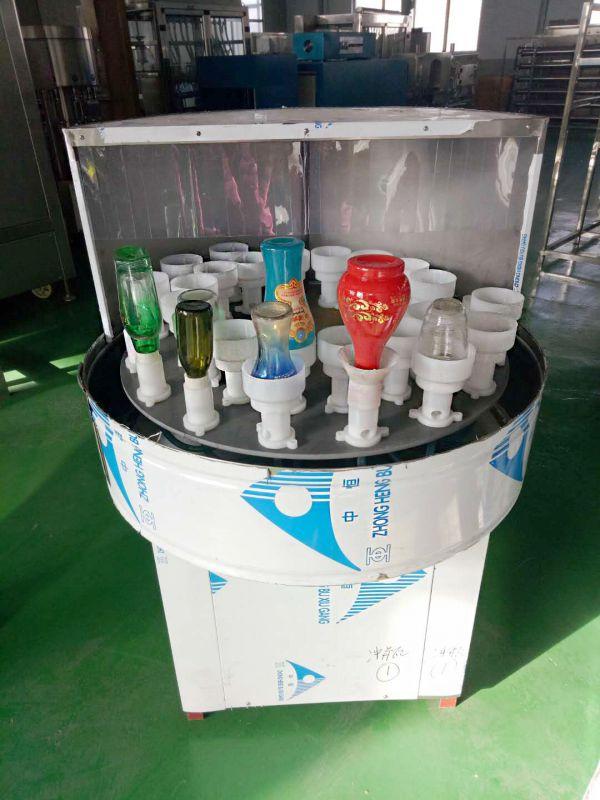 玻璃瓶洗瓶机、32头冲瓶机、半自动酒瓶洗瓶机
