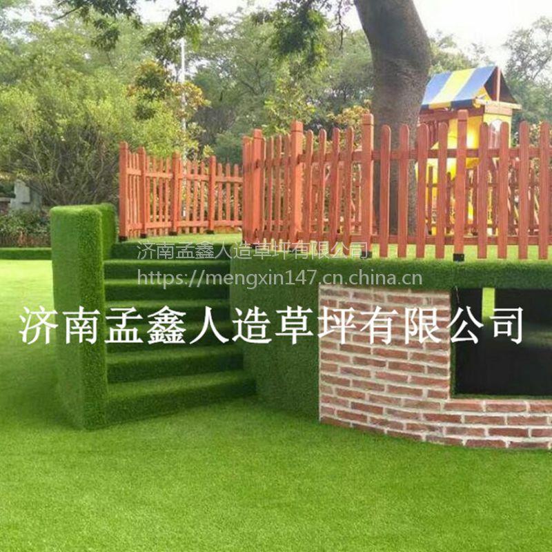高密度运动跑道专用红色人造草坪 仿真草坪 运动场地专用