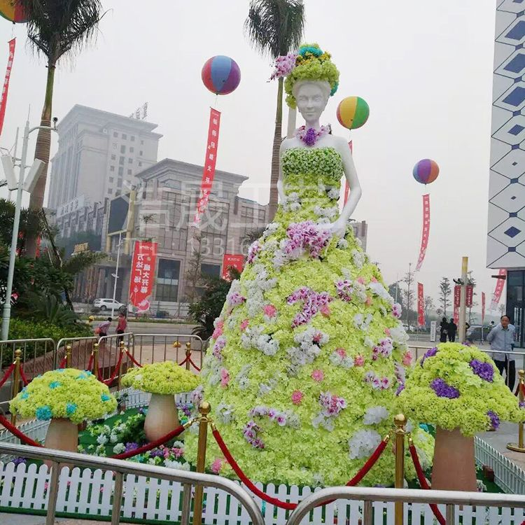 中国广东省东莞市 仿真绿雕景观装饰