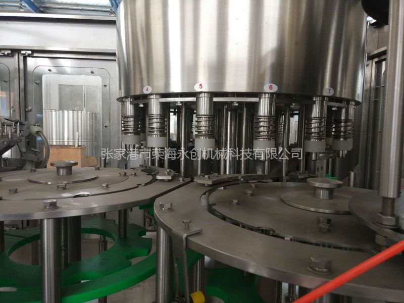 荣海永创CGF18-18-6-70000山泉水 矿泉水纯水饮料成套生产线 三合一 灌装机