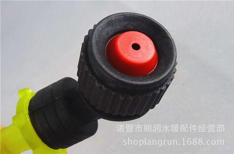 汽车淋水配件淋水支架塑料喷头 喷雾型塑料喷头 单喷淋水器园艺图片