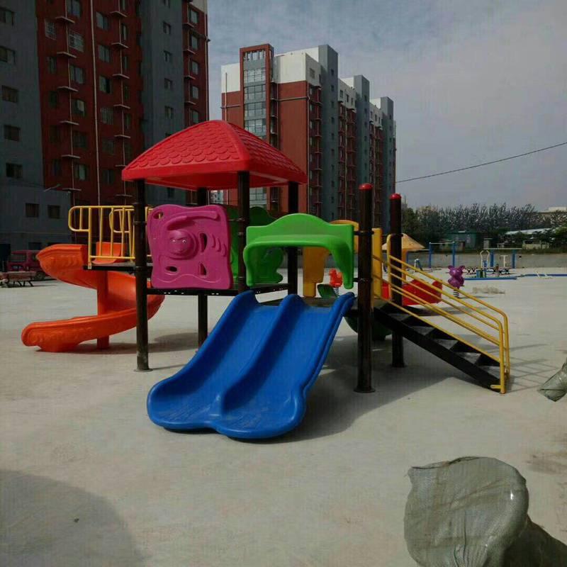 贵州幼儿园组合滑梯正品,儿童游乐设施供货商,量大送货