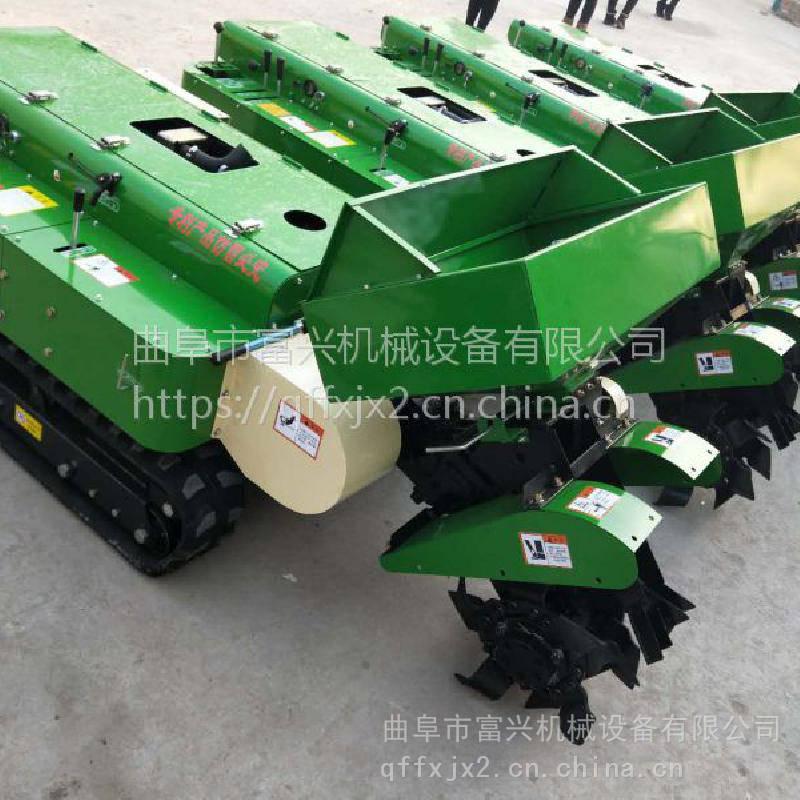时风柴油动力旋耕机富兴报价 履带式果树开沟施肥机价格