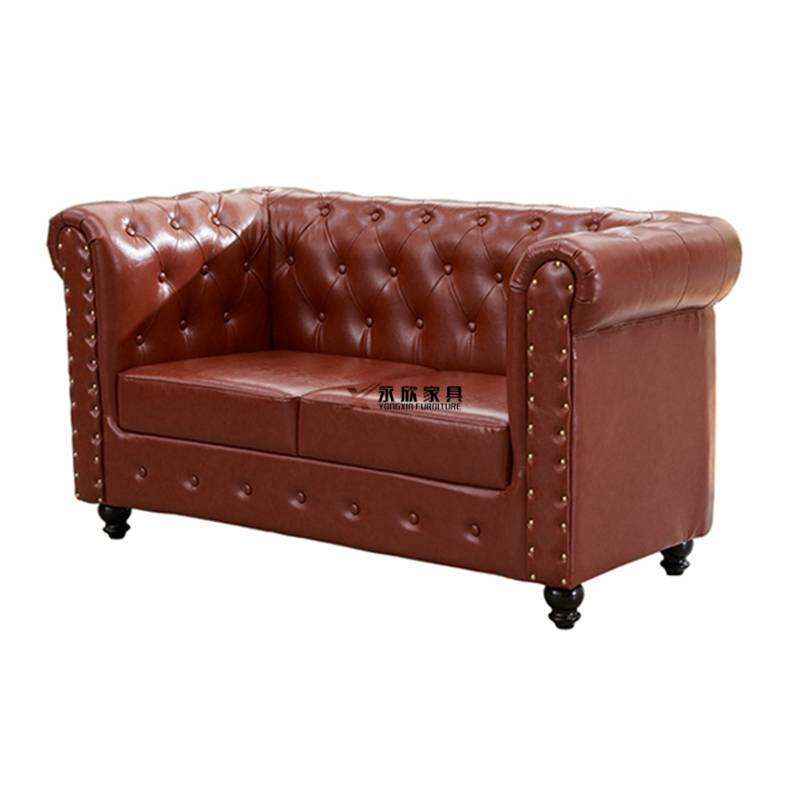 橡木材质北欧沙发,实木简约扶手卡座沙发订制