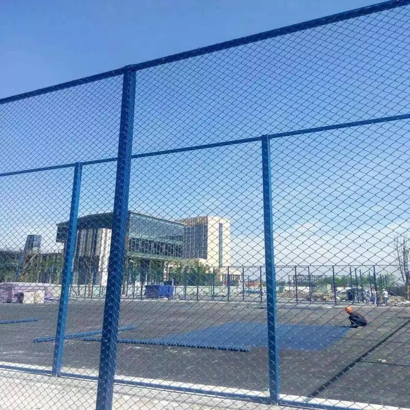 安庆体育围栏厂家 篮球场隔离栅 安庆篮球场围网安装