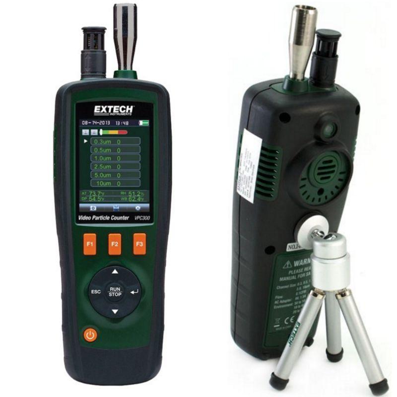 EXTECH VPC300美国进口手持式6通道带内置摄像头视频粒子计数器