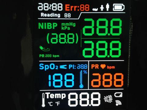 华彩定制家电控制LCD液晶屏
