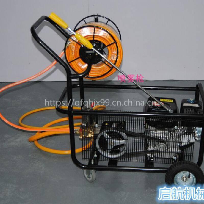 三轮子自走式打药机 麦地汽油喷雾器 河北果园喷药车