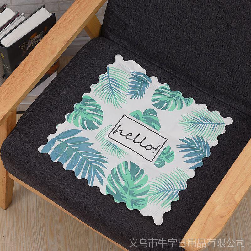 爆款创意卡通冰垫降温散热坐垫PVC凉垫创意沙发垫冰枕定制批发