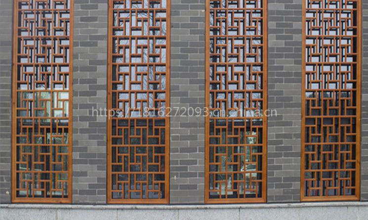 热销 工程铝窗花 镂空工艺铝窗花