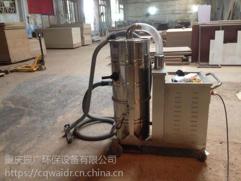 长寿区家具厂板材车间木屑粉尘工业吸尘器