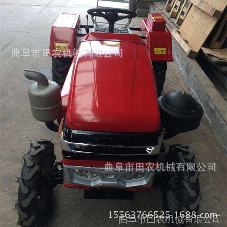 低矮车身田园管理机 超低矮正/偏座304四轮拖拉机 大动力松土机