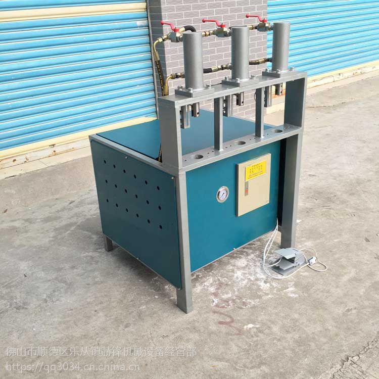 防盗网方管冲圆孔设备 不锈钢管打孔机模具 冲床
