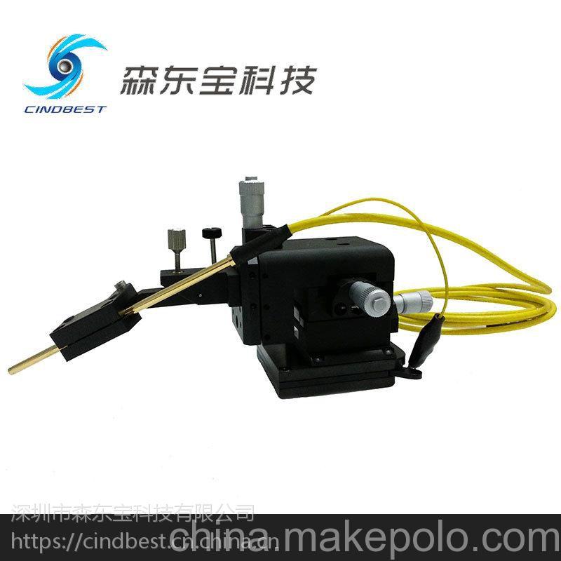 森东宝供应进口探针座,四维调节0.7um精度探针座,优惠直销