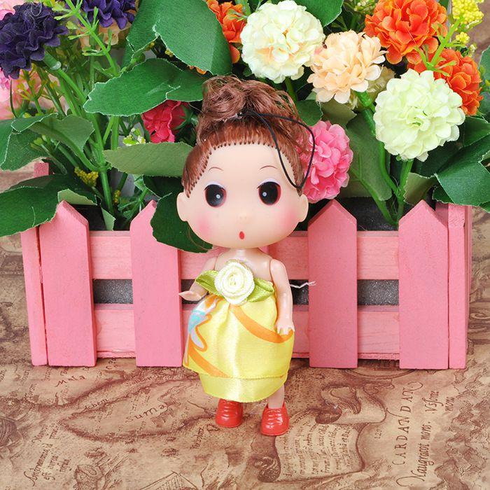 12厘米v挂件挂件娃娃手机挂件礼品舞蹈美女玩偶中班娃娃幼儿园大头玩具中国娃娃图片