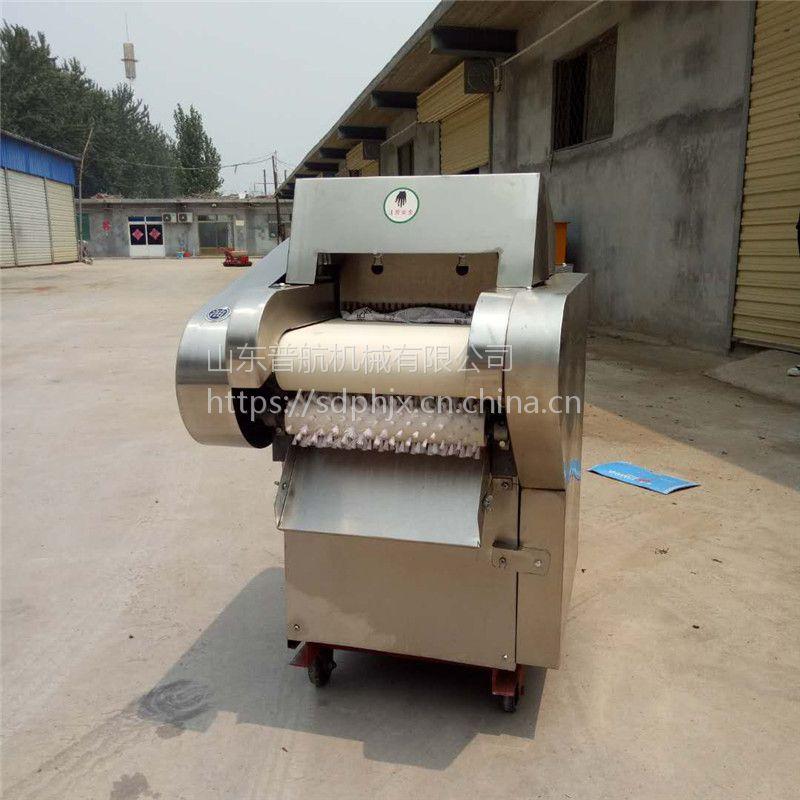 土豆切片切丝机厂家 普航 辣椒切段机 不锈钢白菜切丝机价格